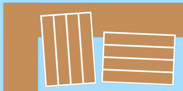 Neutral Light Brown Display Border - neutral, light brown, display border