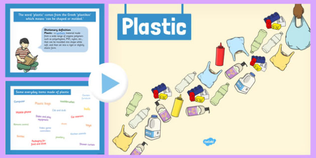All About Plastic PowerPoint - plastic, powerpoint, all about
