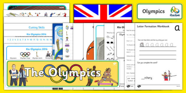 Rio Olympic Games SEN Resource Pack