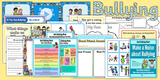 Anti-Bullying Week Resource Pack - anti-bullying week, resource pack, pack, resource