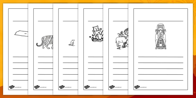 Chinese New Year Story Writing Frames - chinese new year, writing