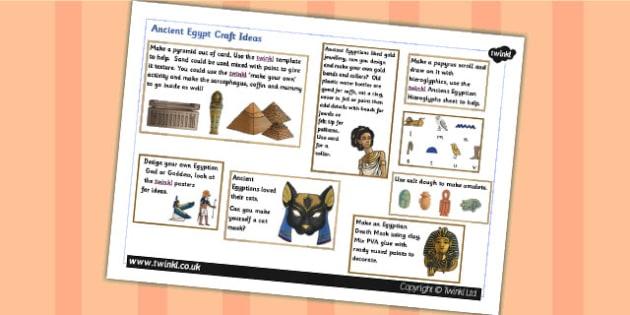 Ancient Egyptian Craft Ideas - egypt, ancient egypt, art, design