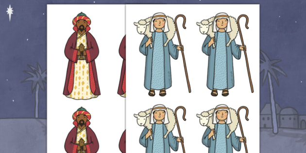 Christmas Editable Nativity Images - editable, image, editable image, nativity, editable nativity, editable nativity images, editable picture, editable display image, display, display picture