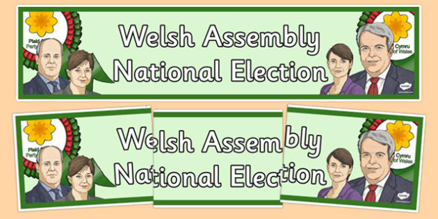 Welsh Assembly National Election 2016 Display Banner - welch, cymraeg, Welsh Assembly National Election, 2016, Display Banner