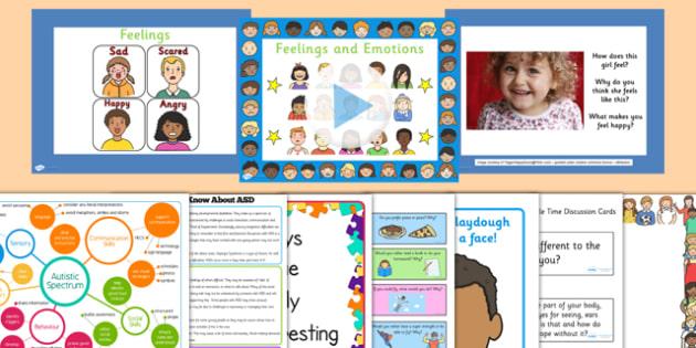Top 10 Autism Awareness Resource Pack - top ten, autism awareness, resource pack, pack