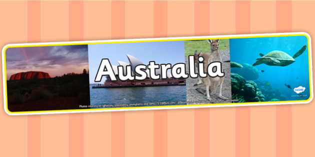 Australia Photo Display Banner - Australian, Display Banner, Australia, Banner, Australian Display Banner, Photo Banner, Themed Banner