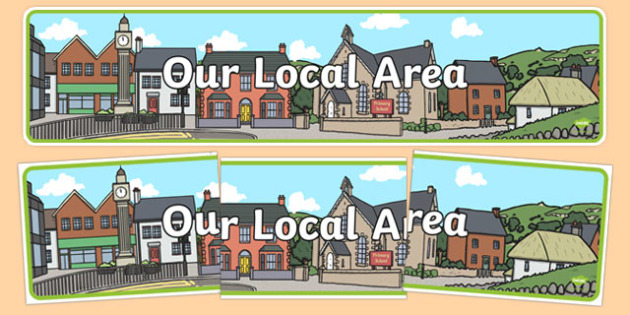 Our Local Area Display Banner - display, banner, our, local, area