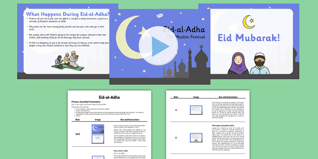 Eid al-Adha Assembly PowerPoint and Script Pack - eid al-adha, assembly