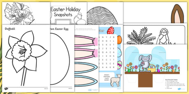 Top 10 Easter Activities For Parents - top ten, easter, resources, activities, parents
