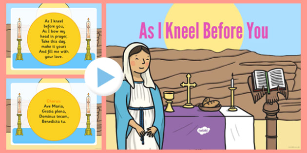 As I Kneel Before You Lyrics PowerPoint - as i kneel before you, lyrics, hymn, powerpoint
