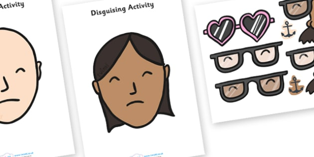 Police Disguises - police, emergency services, role play, mask