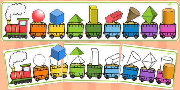 3D Shape Matching Puzzle - 3d, shape, matching, puzzle, match