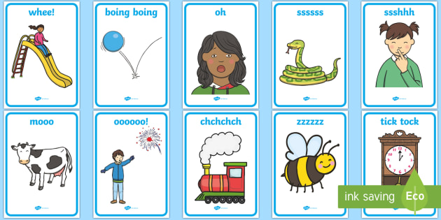 Voice Sound Display Cards (Phase 1) - Vocal Sounds, Phase 1, Phase one, vocal sounds,DfES Letters and Sounds, Letters and sounds, Letter flashcards, Image and Word Cards