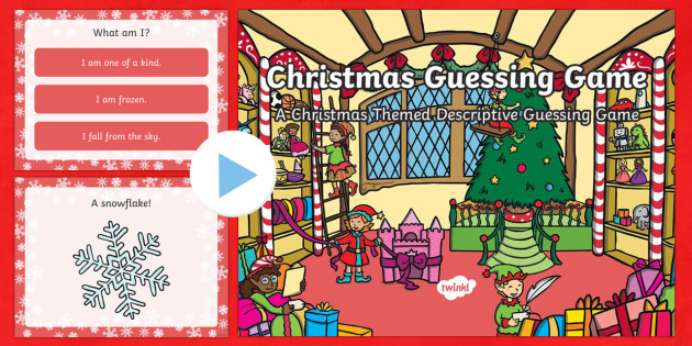 Christmas Guessing Game PowerPoint - Christmas USA, powerpoint, guessing game,. Christmas, guess,