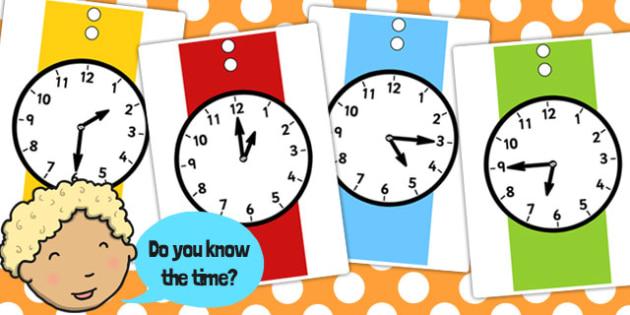 A4 Analogue Watch Faces - analogue, watch, faces, a4, time