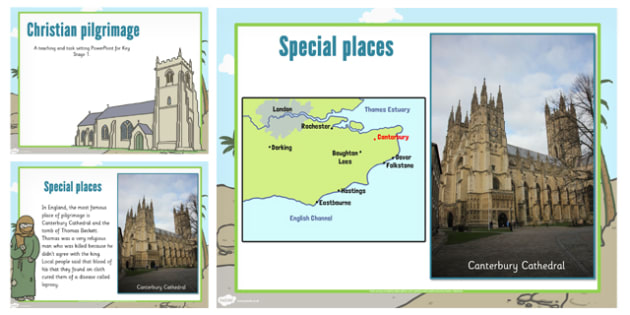 KS1 Christian Pilgrimage Teaching and Task Setting PowerPoint