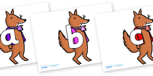 Phoneme Set on Small Fox 2 to Support Teaching on Fantastic Mr Fox - Phoneme set, phonemes, phoneme, Letters and Sounds, DfES, display, Phase 1, Phase 2, Phase 3, Phase 5, Foundation, Literacy