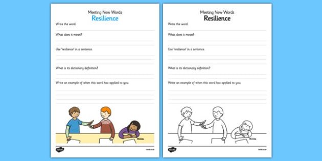Meeting New Words Activity Sheet - meeting new words, new words, activity, sheet, new, words, worksheet