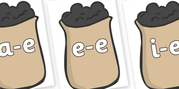 Modifying E Letters on Bags of Wool - Modifying E, letters, modify, Phase 5, Phase five, alternative spellings for phonemes, DfES letters and Sounds