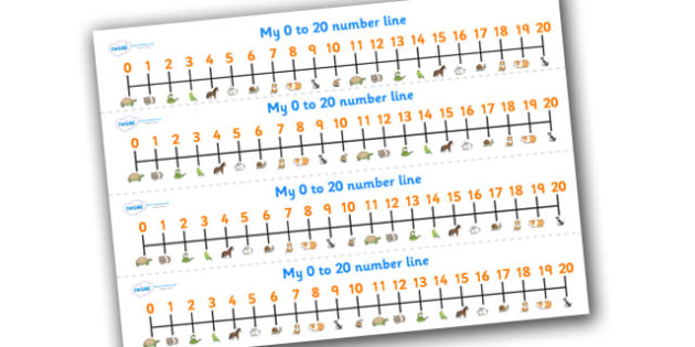 0-20 Number Line (Pets) - Counting, Numberline, Number line, Counting on, Counting back, cat, dog, rabbit, mouse, guinea pig, rat, hamster, gerbil, horse, puppy, kitten, snake, chinchilla, snail, lizard, budgie