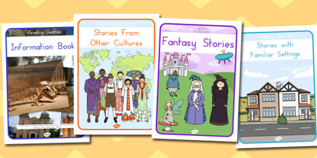 Reading Genres Display Posters - reading, genres, read, literacy