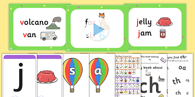 Phase 3 Resource Pack - phase 3, phase three, resource pack, resources, phase 3 resources, phase 3 activities, actvities, word cards, display poster, words