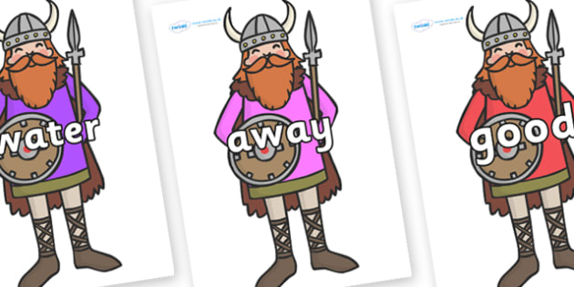 Next 200 Common Words on Vikings - Next 200 Common Words on  - DfES Letters and Sounds, Letters and Sounds, Letters and sounds words, Common words, 200 common words