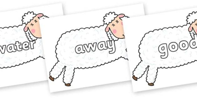 Next 200 Common Words on Hullabaloo Sheep to Support Teaching on Farmyard Hullabaloo - Next 200 Common Words on  - DfES Letters and Sounds, Letters and Sounds, Letters and sounds words, Common words, 200 common words