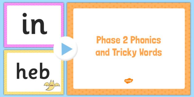 Phase 2 Phonics and Tricky Words Assessment PowerPoint - EYFS, letters and sounds