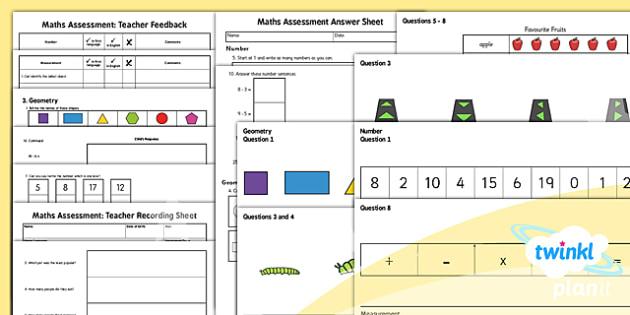 PlanIt Intervention EAL Maths Assessment - planit, eal, maths