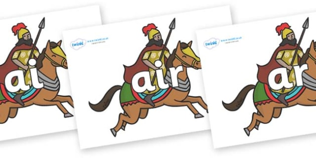 Phase 3 Phonemes on Egyptian Warriors - Phonemes, phoneme, Phase 3, Phase three, Foundation, Literacy, Letters and Sounds, DfES, display
