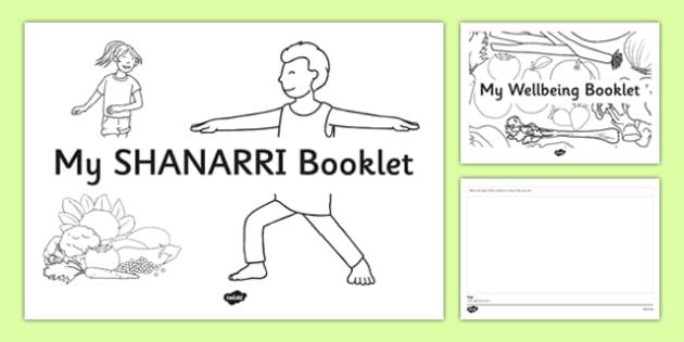 SHANARRI Wellbeing Indicators Drawing Booklet - CfE, SHANARRI, GIRFEC, healthy, happy, safe, protected