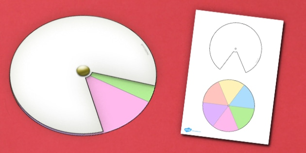 Interactive Notebook Spinner 1 6th - paper craft, visual aid