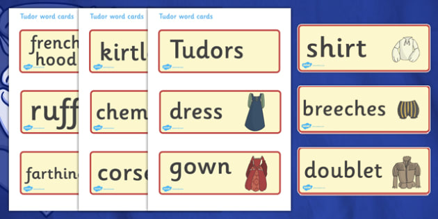 The Tudors Word Cards - Tudors, Henry, history, word cards, flashcards, cards, Henry VIII, Tudor, England, Queen Elizabeth I, Church of England, reformation