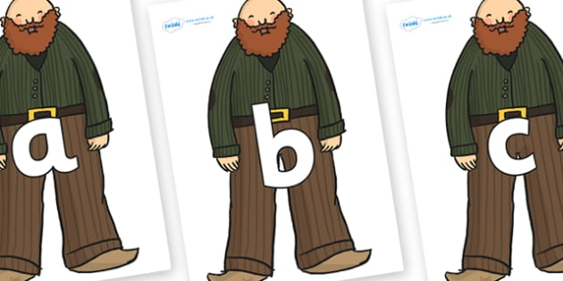 Phoneme Set on Giants - Phoneme set, phonemes, phoneme, Letters and Sounds, DfES, display, Phase 1, Phase 2, Phase 3, Phase 5, Foundation, Literacy