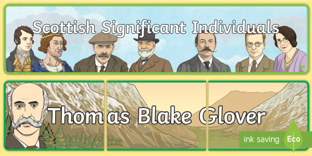 Scottish Significant Individuals Display Banners - Scottish, significant individual, famous, Thomas Blake Glover, Japan, Scotland, Scottish samurai, Ab