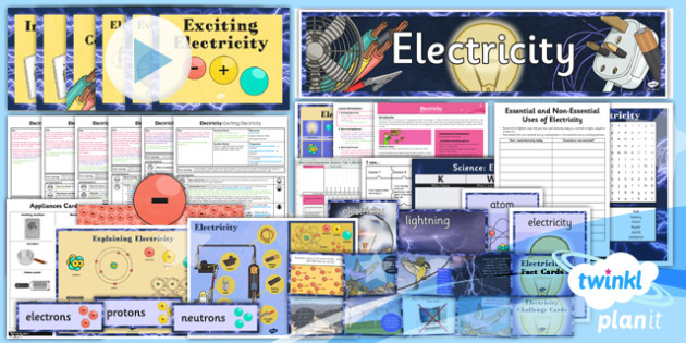 PlanIt - Science Y4 - Electricity Unit Pack - planit, science, year 4, electricity, unit, pack