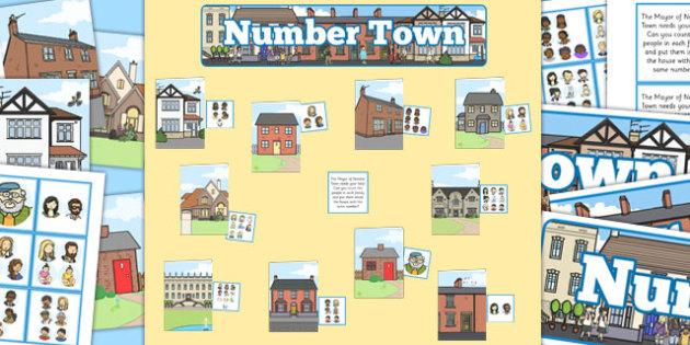 Number Families Display Pack - number families, display pack