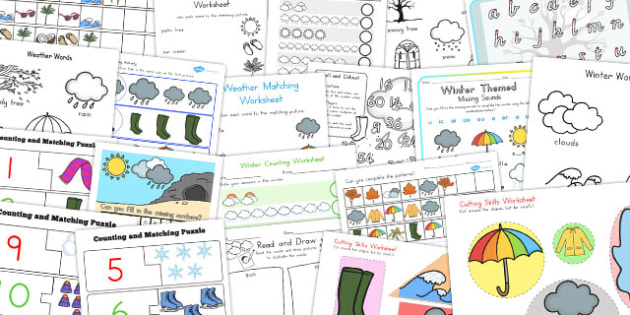 Winter Activity Pack - australia, winter, activity pack, activity