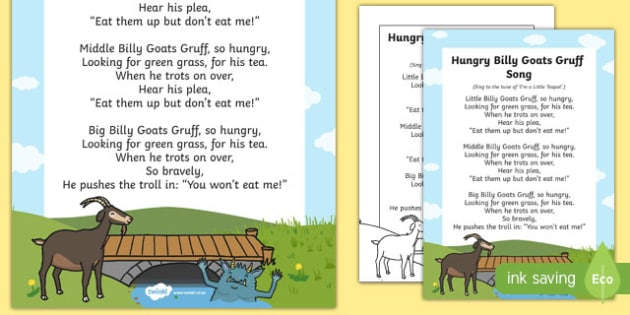 Hungry Billy Goats Gruff Song