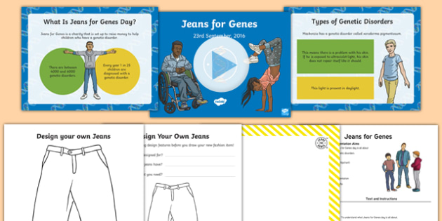 Jeans For Genes Resource Pack