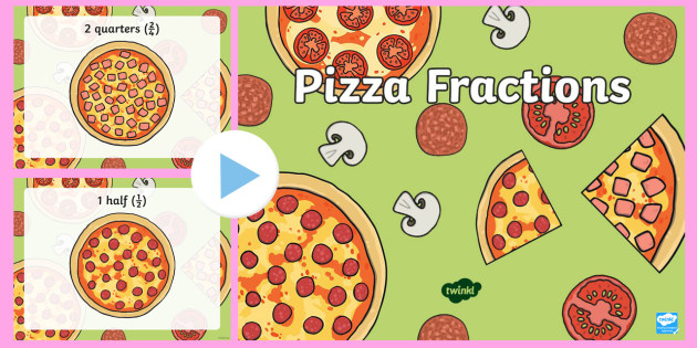 Pizza Fractions PowerPoint-pizza fractions, fractions, powerpoint, fractions powerpoint, maths, maths powerpoint, numeracy, numeracy powerpoint