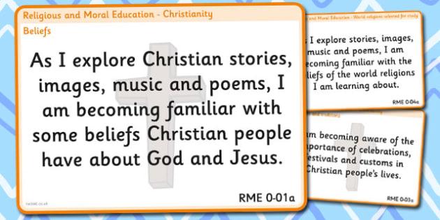 CfE Religious Moral Education Non-Catholic Experiences Outcomes