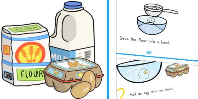 Pancake Recipe Sheets - australia, pancake, recipe, sheets, sheet