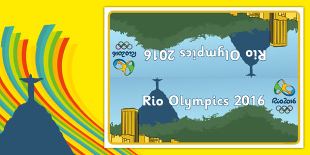 Rio Olympics 2016 Group and Table Signs - rio olympics, 2016 olympics, rio 2016, group, table, signs