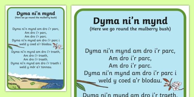Here We Go  Song Lyrics-Welsh