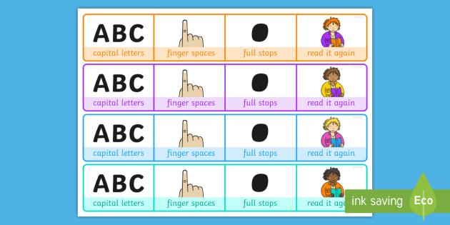 Writing Prompt Writing Reminder Strips - writing prompt, writing, reminder strips, write, prompt