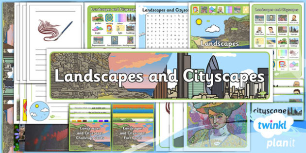 Art and Design: Landscapes and Cityscapes KS1 Unit Additional Resources
