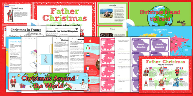Christmas Around the World Resource and Activity Pack - games