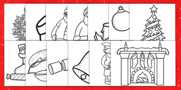 Christmas Colouring Pages - australia, christmas, colouring